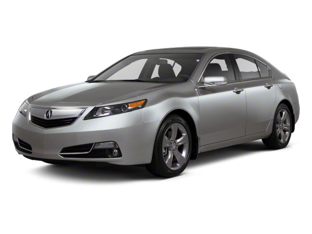 Forged Silver Metallic 2012 Acura TL Pictures TL Sedan 4D Advance AWD photos front view