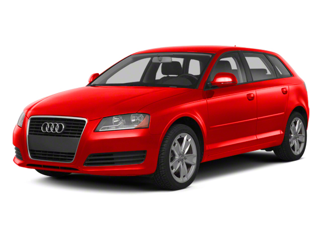Brilliant Red 2012 Audi A3 Pictures A3 Hatchback 4D 2.0T Quattro photos front view
