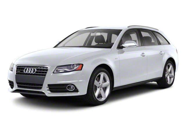 Glacier White Metallic 2012 Audi A4 Pictures A4 Wagon 4D 2.0T Quattro photos front view