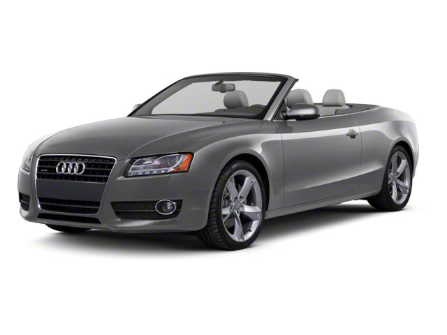 Monsoon Gray Metallic 2012 Audi A5 Pictures A5 Convertible 2D Premium Plus photos front view