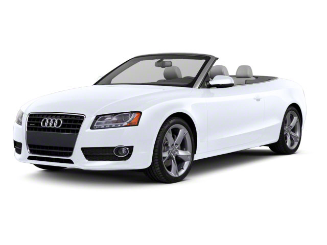 Glacier White Metallic 2012 Audi A5 Pictures A5 Convertible 2D Premium Plus photos front view