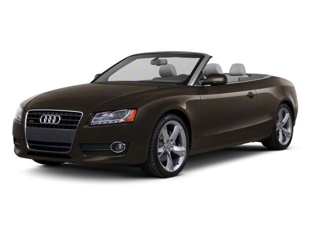 Teak Brown Metallic 2012 Audi A5 Pictures A5 Convertible 2D Premium Plus photos front view