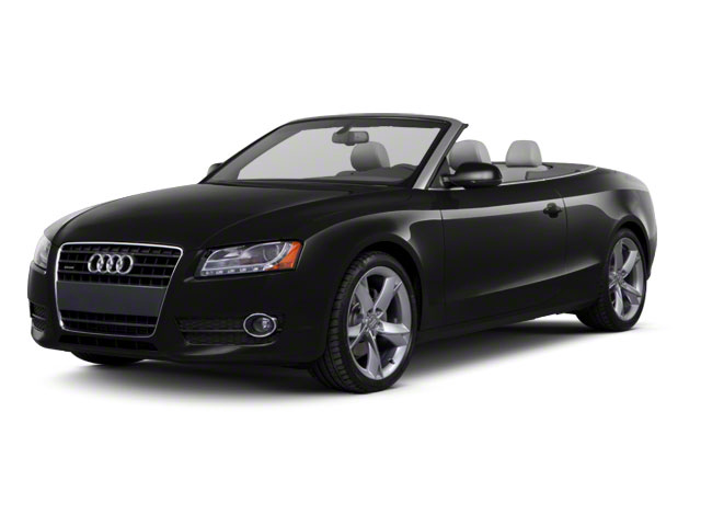 Brilliant Black 2012 Audi A5 Pictures A5 Convertible 2D Premium Plus photos front view