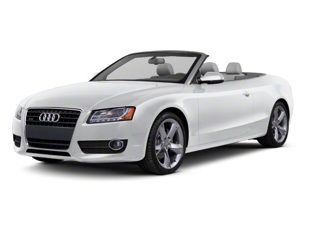Ice Silver Metallic 2012 Audi A5 Pictures A5 Convertible 2D Premium Plus photos front view