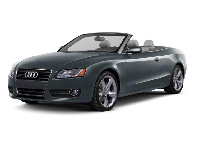 Moonlight Blue Metallic 2012 Audi A5 Pictures A5 Convertible 2D Premium Plus photos front view