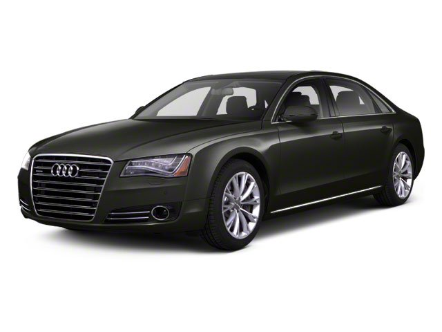 Oolong Grey Metallic 2012 Audi A8 L Pictures A8 L Sedan 4D 4.2 Quattro L photos front view