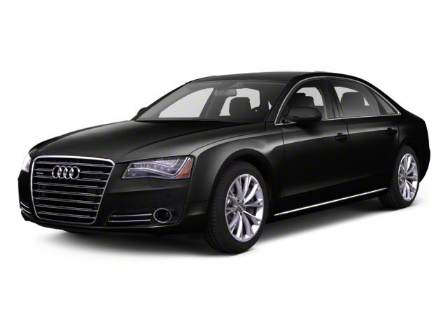 Phantom Black Pearl 2012 Audi A8 L Pictures A8 L Sedan 4D 4.2 Quattro L photos front view