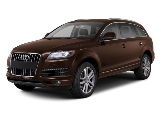 Teak Brown Metallic 2012 Audi Q7 Pictures Q7 Utility 4D 3.0 TDI Prestige S-Line A photos front view