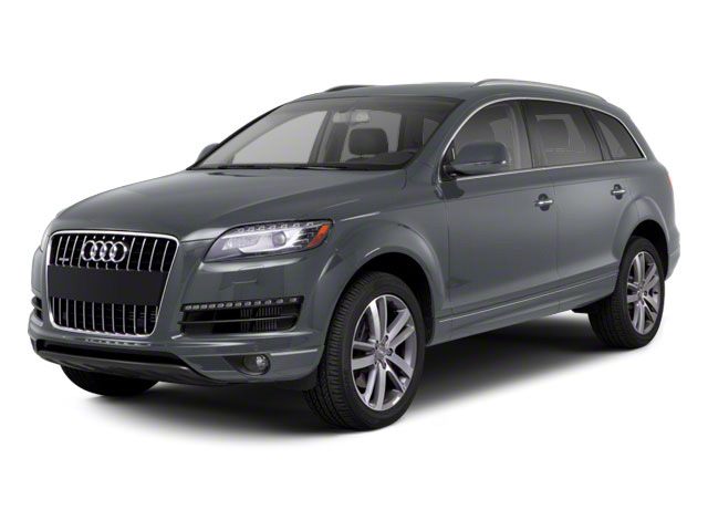 Graphite Gray Metallic 2012 Audi Q7 Pictures Q7 Utility 4D 3.0 TDI Prestige S-Line A photos front view