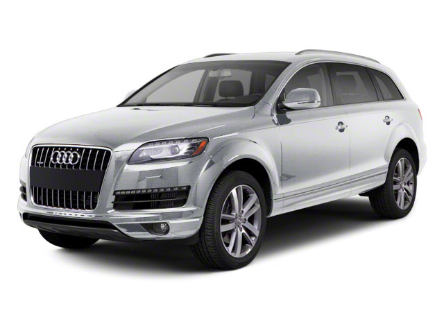 Ice Silver Metallic 2012 Audi Q7 Pictures Q7 Utility 4D 3.0 TDI Prestige AWD photos front view