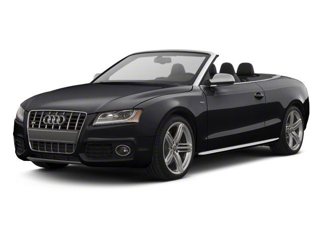 Brilliant Black 2012 Audi S5 Pictures S5 Convertible 2D Quattro photos front view