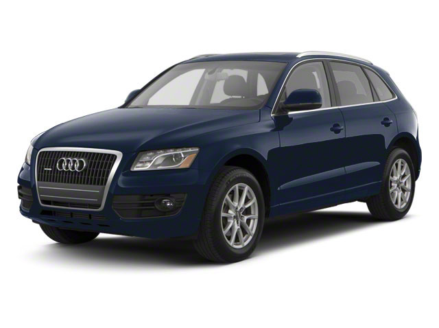 Moonlight Blue Metallic 2012 Audi Q5 Pictures Q5 Utility 4D 2.0T Premium Plus AWD photos front view