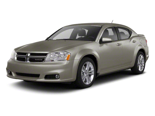 Tungsten Metallic 2012 Dodge Avenger Pictures Avenger Sedan 4D SXT photos front view