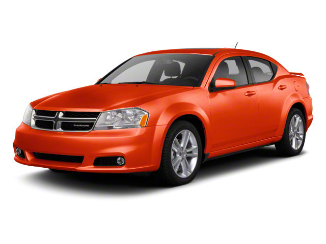Copperhead Pearl 2012 Dodge Avenger Pictures Avenger Sedan 4D SXT photos front view