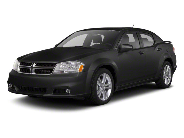 Black 2012 Dodge Avenger Pictures Avenger Sedan 4D SXT photos front view