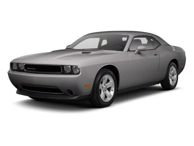 Bright Silver Metallic 2012 Dodge Challenger Pictures Challenger Coupe 2D SRT-8 photos front view