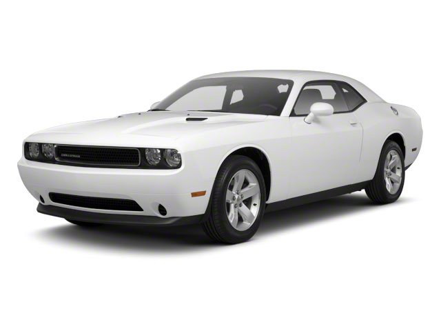 Bright White 2012 Dodge Challenger Pictures Challenger Coupe 2D SRT-8 photos front view