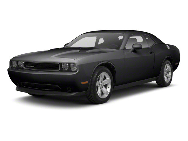 Black 2012 Dodge Challenger Pictures Challenger Coupe 2D SRT-8 photos front view