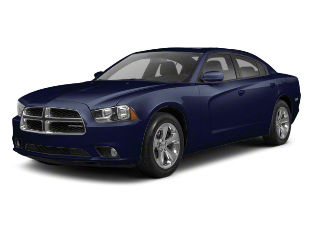 Midnight Blue Pearl 2012 Dodge Charger Pictures Charger Sedan 4D Police photos front view