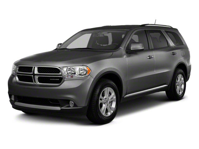 Maximum Steel Metallic 2012 Dodge Durango Pictures Durango Utility 4D Crew AWD photos front view