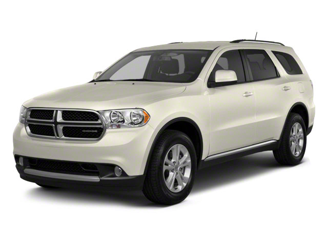 White Gold 2012 Dodge Durango Pictures Durango Utility 4D Crew AWD photos front view