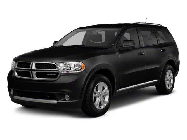 Black Clear Coat 2012 Dodge Durango Pictures Durango Utility 4D Crew AWD photos front view