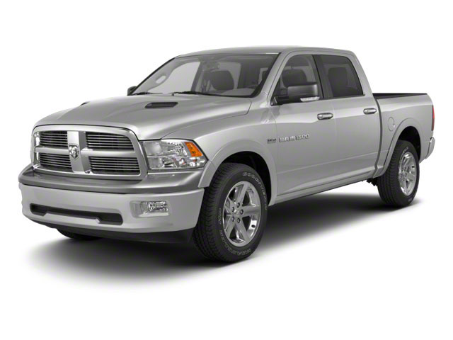 Bright Silver Metallic 2012 Ram Truck 1500 Pictures 1500 Crew Cab Outdoorsman 4WD photos front view