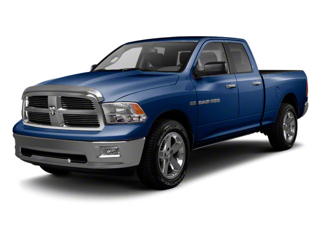 True Blue Pearl 2012 Ram Truck 1500 Pictures 1500 Quad Cab SLT 4WD photos front view