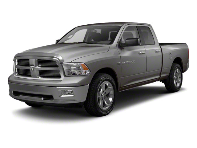 Mineral Gray Metallic 2012 Ram Truck 1500 Pictures 1500 Quad Cab SLT 4WD photos front view