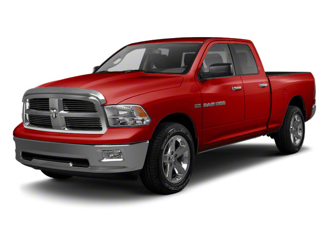 Flame Red 2012 Ram Truck 1500 Pictures 1500 Quad Cab Tradesman 4WD photos front view