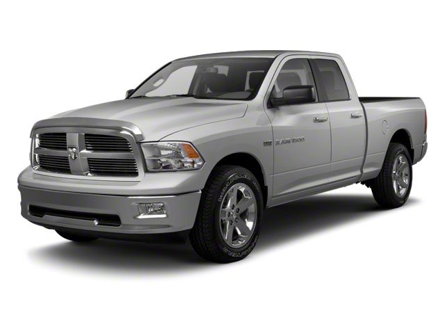 Bright Silver Metallic 2012 Ram Truck 1500 Pictures 1500 Quad Cab Tradesman 4WD photos front view