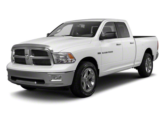 Bright White 2012 Ram Truck 1500 Pictures 1500 Quad Cab SLT 4WD photos front view