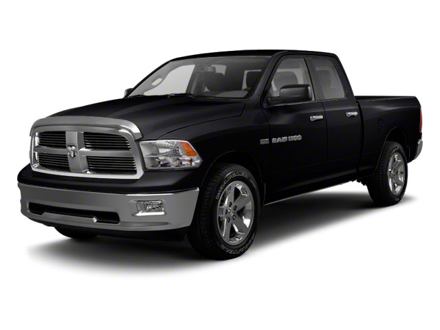 Black 2012 Ram Truck 1500 Pictures 1500 Quad Cab SLT 4WD photos front view