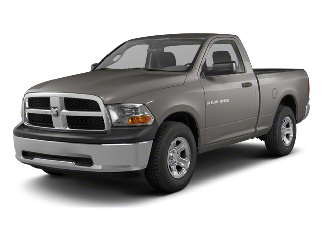 Mineral Gray Metallic 2012 Ram Truck 1500 Pictures 1500 Regular Cab Tradesman 4WD photos front view