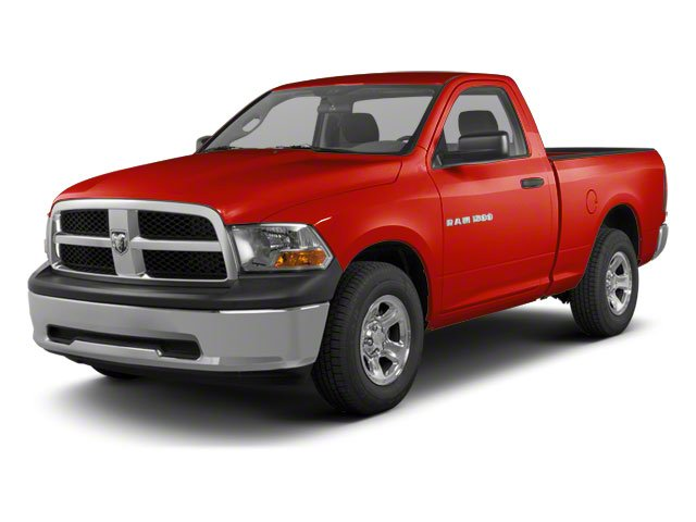 Flame Red 2012 Ram Truck 1500 Pictures 1500 Regular Cab Tradesman 4WD photos front view