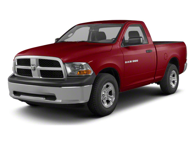 Deep Cherry Red Crystal Pearl 2012 Ram Truck 1500 Pictures 1500 Regular Cab Tradesman 4WD photos front view