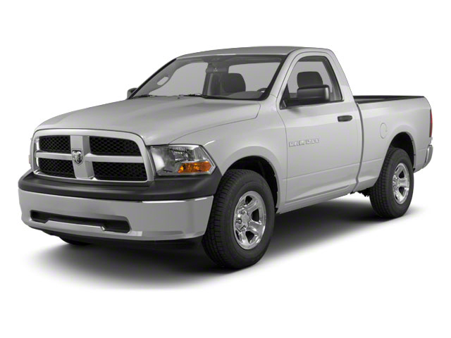 Bright Silver Metallic 2012 Ram Truck 1500 Pictures 1500 Regular Cab SLT 2WD photos front view