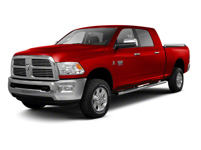 Bright Red 2012 Ram Truck 2500 Pictures 2500 Mega Cab SLT 4WD photos front view