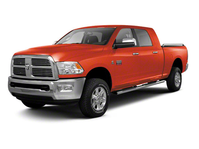 Omaha Orange 2012 Ram Truck 2500 Pictures 2500 Mega Cab SLT 4WD photos front view