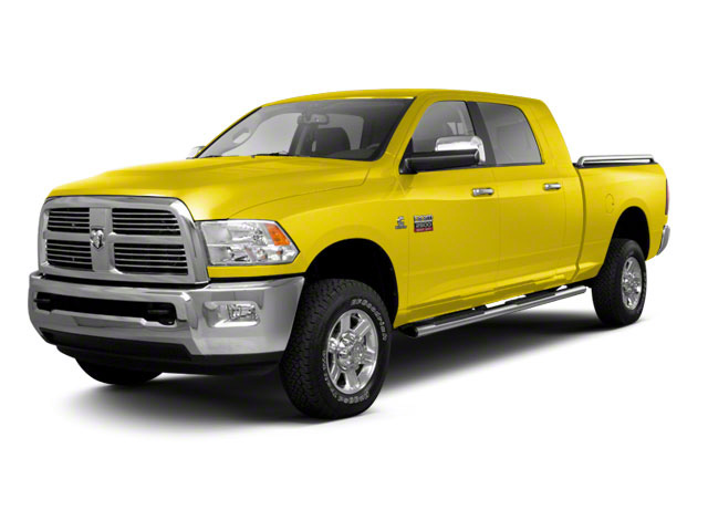 Yellow 2012 Ram Truck 2500 Pictures 2500 Mega Cab SLT 4WD photos front view