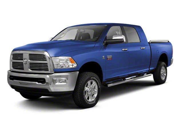 New Holland Blue 2012 Ram Truck 2500 Pictures 2500 Mega Cab SLT 4WD photos front view