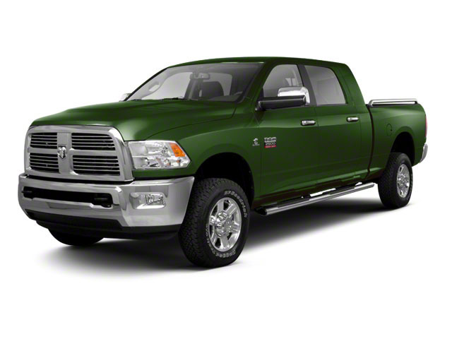 D T Green 2012 Ram Truck 2500 Pictures 2500 Mega Cab SLT 4WD photos front view