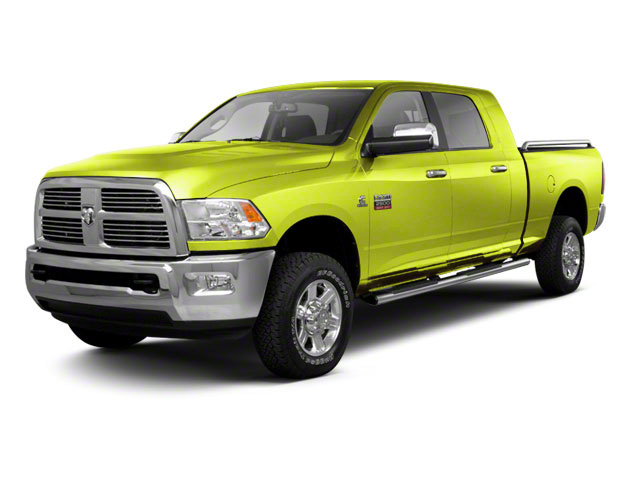 National Fire Safety Lime Yellow 2012 Ram Truck 2500 Pictures 2500 Mega Cab SLT 4WD photos front view