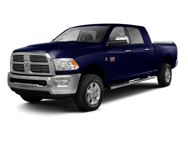 Midnight Blue Pearl 2012 Ram Truck 2500 Pictures 2500 Mega Cab SLT 4WD photos front view