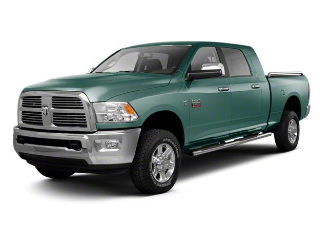 Light Green 2012 Ram Truck 2500 Pictures 2500 Mega Cab SLT 4WD photos front view