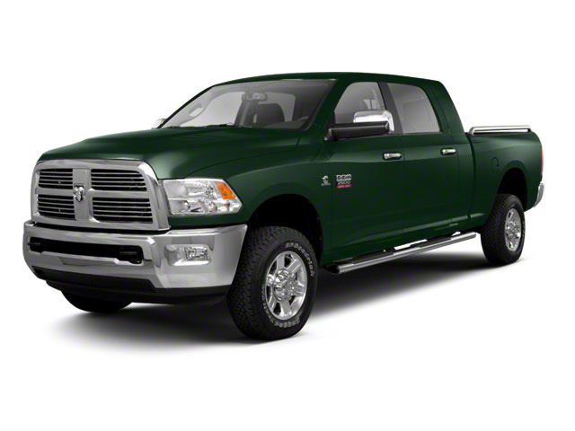 Timberline Green Pearl 2012 Ram Truck 2500 Pictures 2500 Mega Cab SLT 4WD photos front view