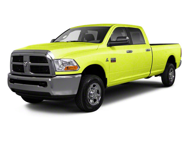 National Fire Safety Lime Yellow 2012 Ram Truck 2500 Pictures 2500 Crew Cab ST 4WD photos front view