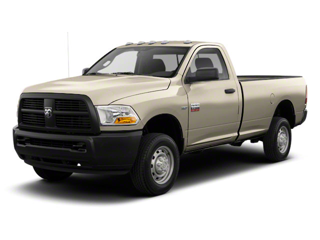 Light Cream 2012 Ram Truck 2500 Pictures 2500 Regular Cab SLT 4WD photos front view