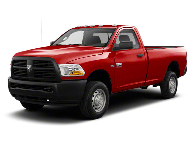 Flame Red 2012 Ram Truck 2500 Pictures 2500 Regular Cab SLT 2WD photos front view