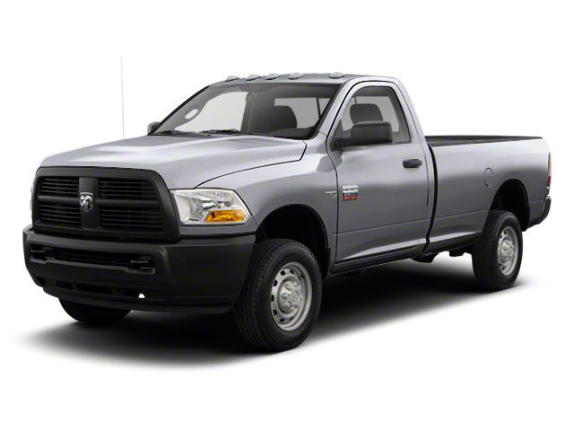 Bright Silver Metallic 2012 Ram Truck 2500 Pictures 2500 Regular Cab Outdoorsman 4WD photos front view